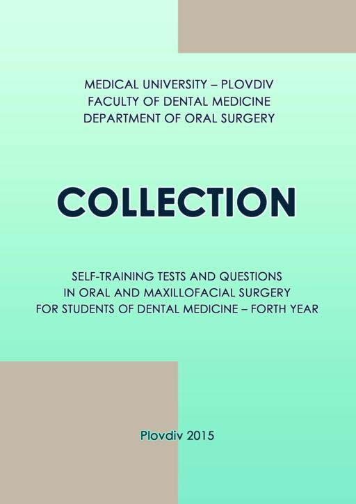 Collection self-training tests and questions in oral and maxillofacial surgery for students of dental medicine – fourth year