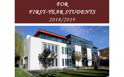 Guide for first-year students 2018/2019
