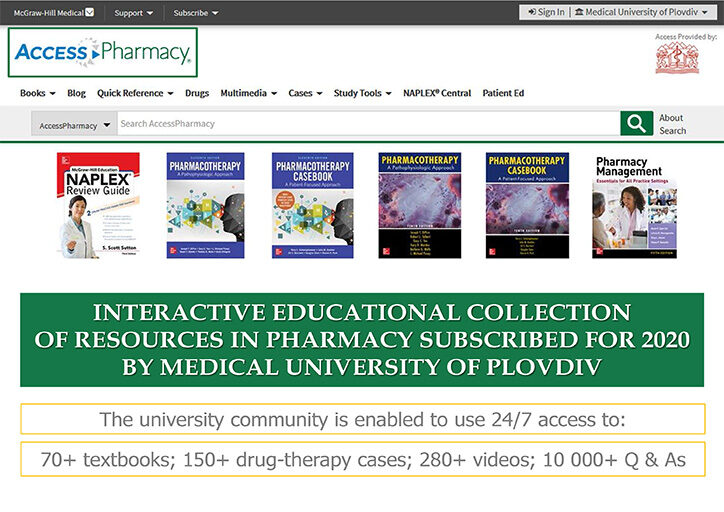 User Guide AccessPharmacy